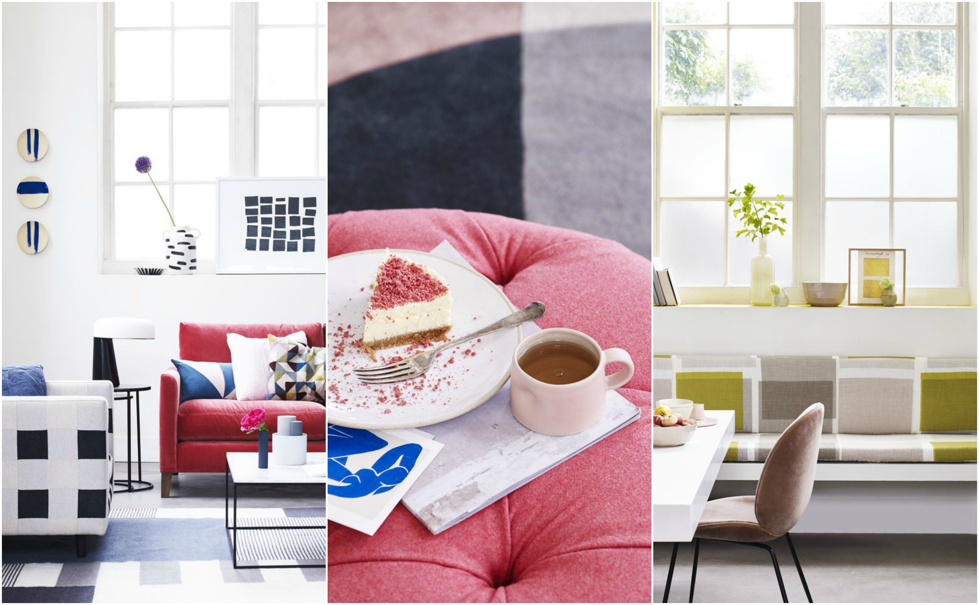 8 Ways To Use Geometric Patterns And Shapes With Colour In Your Home