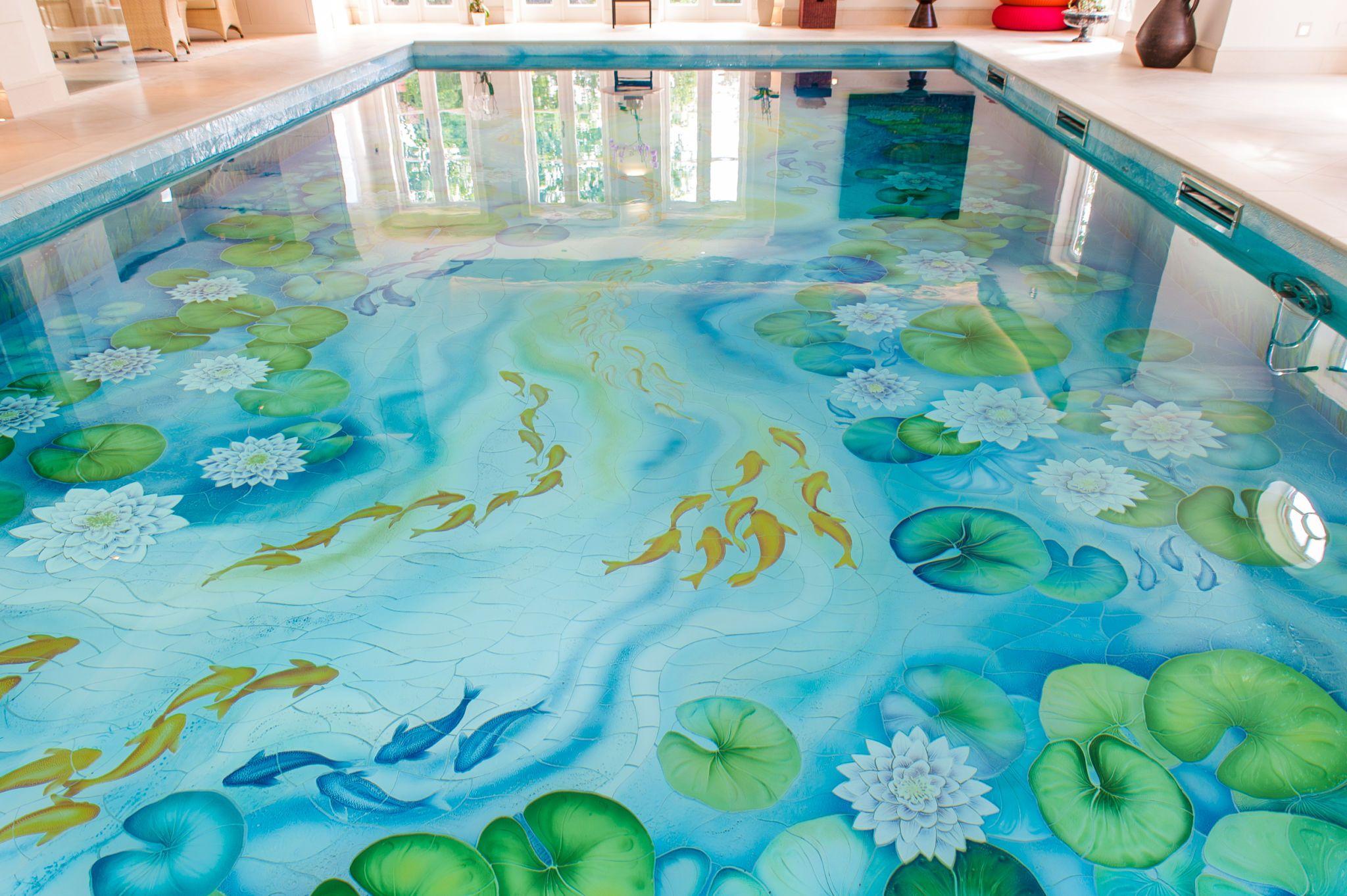 Abbottswood Lodge   Weybridge   Waterlily Swimming Pool Designs