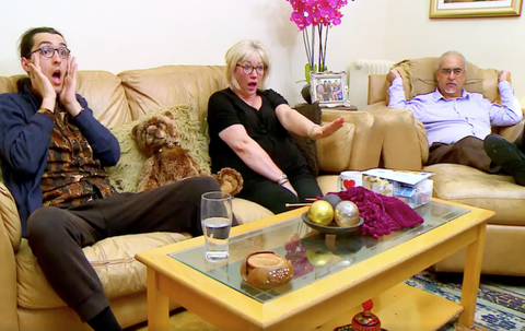 Gogglebox Fans Divided Over The Michael Family's Pink Living