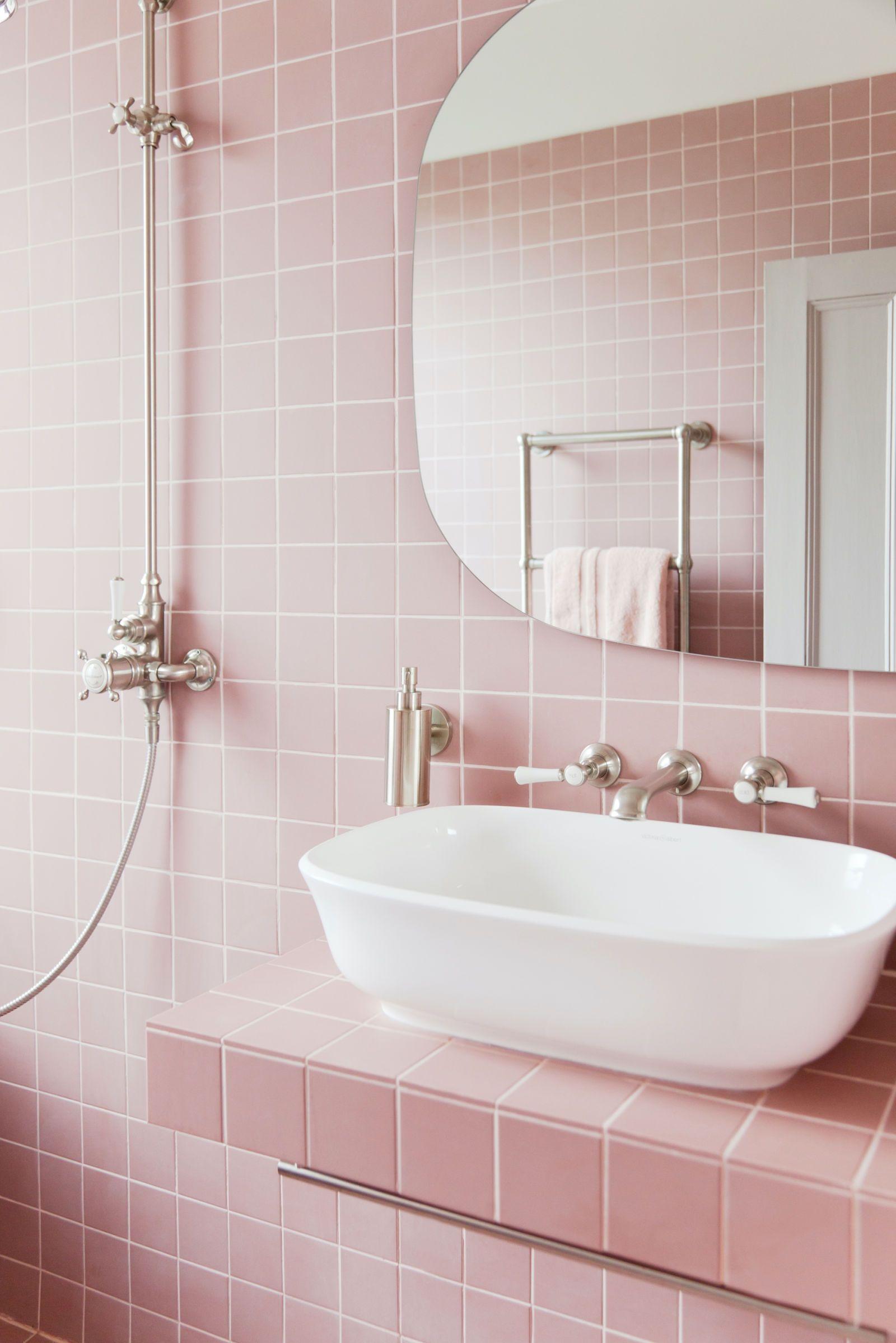 Excellent Pink Bathroom Design Ideas