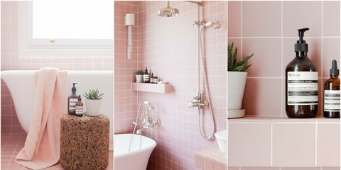 Tour 2lg S Pink Bathroom Pink Bathroom Tiles