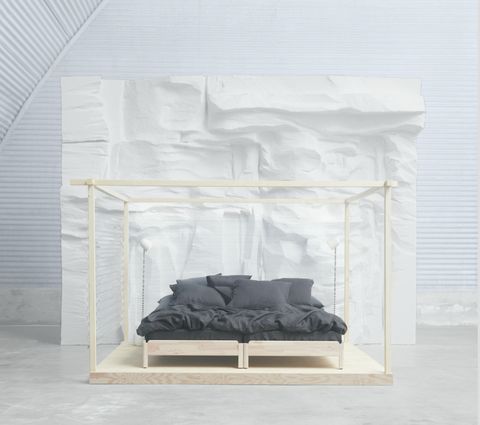 Ikea Design Multi Use Utaker Stackable Bed For Easy Transportation