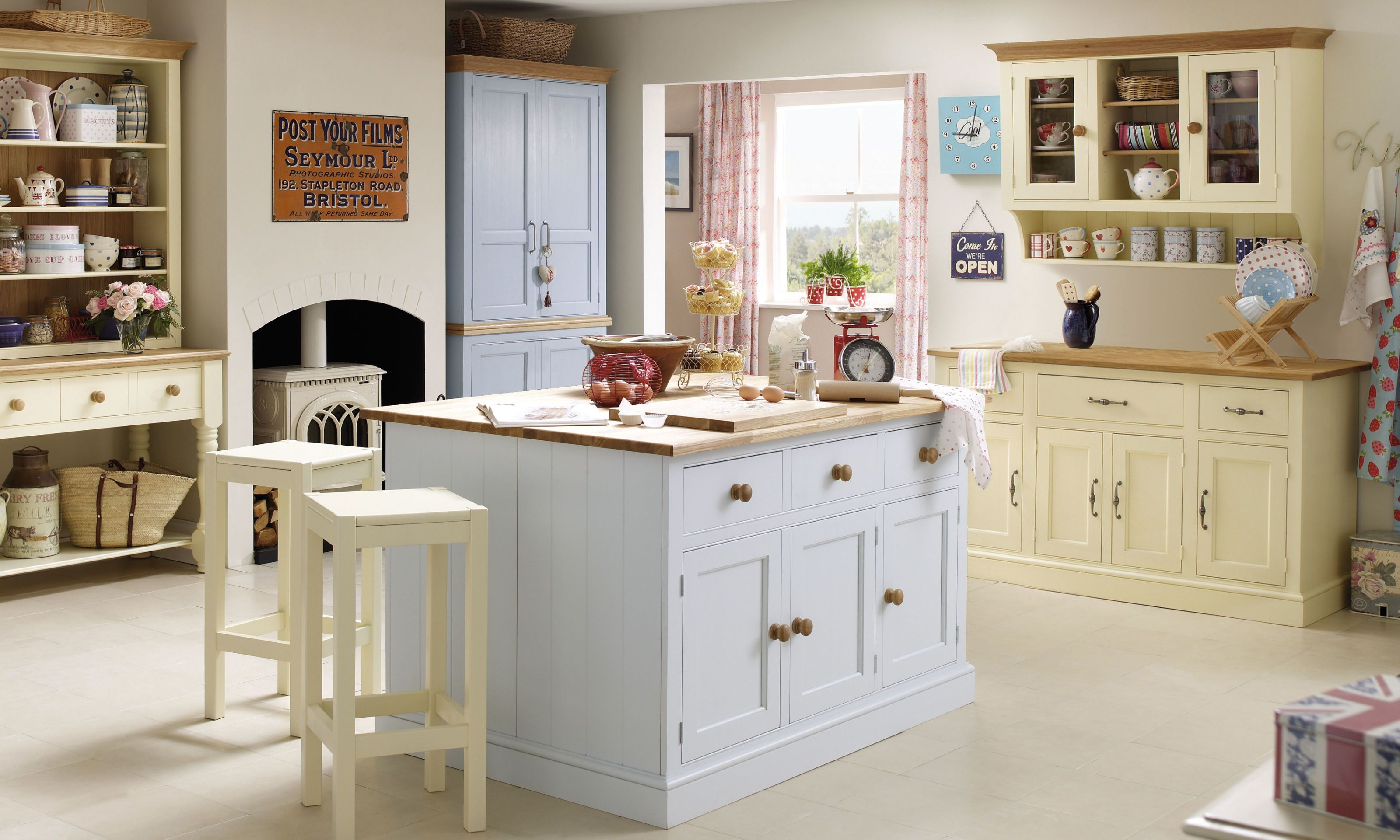 Millbrook Painted Furniture Collection   Country Kitchen