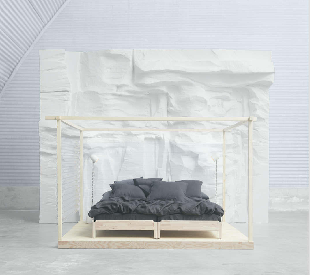 Ikea Design Multi-Use UTÅKER Stackable Bed For Easy Transportation ...