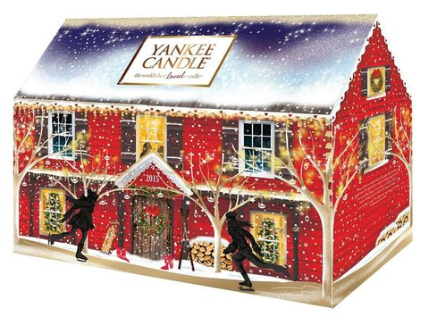 Yankee Candle Advent House