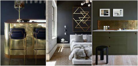 Metal interiors - Pinterest