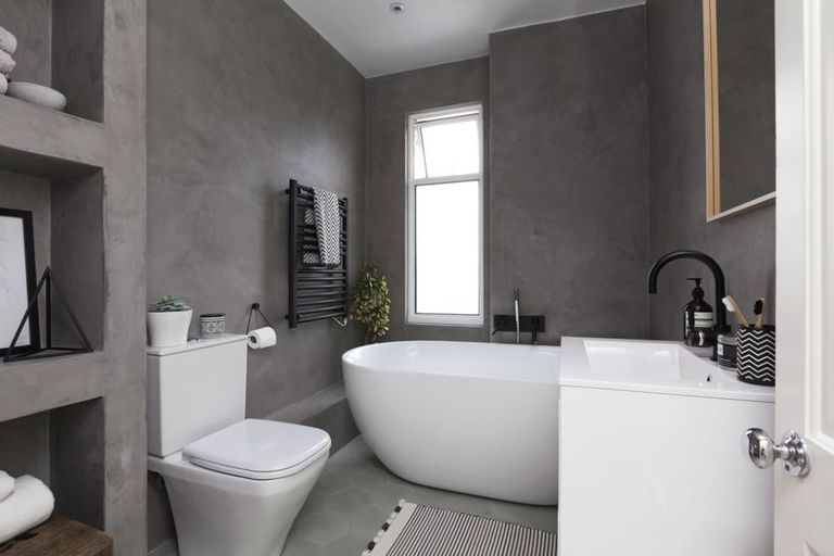 bathroom makeovers uk a contemporary black and white small bathroom design 10990