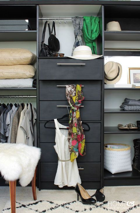 """<p>Prepare to be amazed by this blogger's DIY: She used IKEA's&nbsp;RAST dresser<span class=""""redactor-invisible-space"""" data-verified=""""redactor"""" data-redactor-tag=""""span"""" data-redactor-class=""""redactor-invisible-space"""" style=""""background-color: initial;"""" rel=""""background-color: initial;"""" data-redactor-style=""""background-color: initial;"""">&nbsp;and two bookshelves to turn a blank wall into the ultimate clothing&nbsp;organiser.</span></p><p><em data-redactor-tag=""""em""""><a href=""""http://www.homemadebycarmona.com/how-to-wardrobe-hack/"""" target=""""_blank"""">See more at Homemade by Carmona »</a></em></p>"""