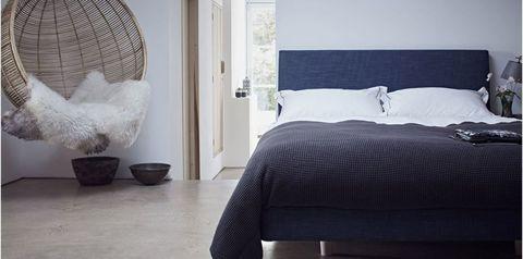 Calm bedroom atmosphere