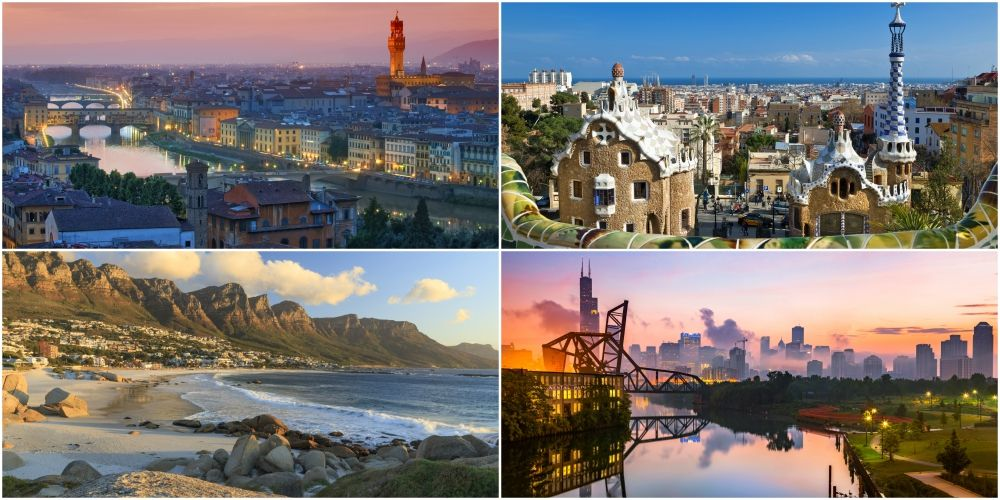 The 10 best cities in the world to visit, based on your interests