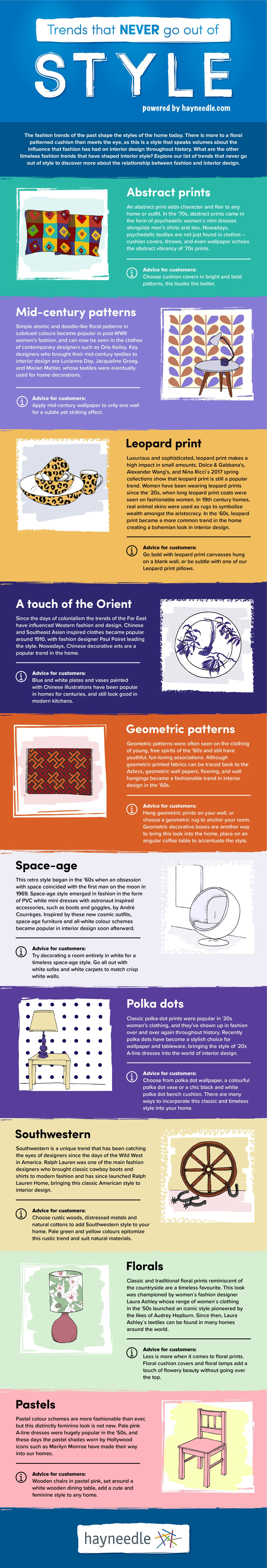 Interior Trends That Never Go Out Of Style   Infographic