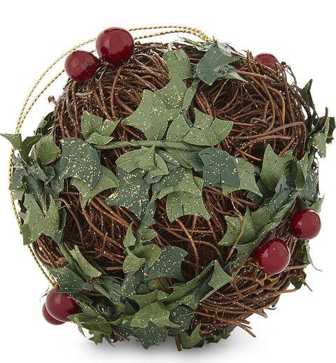 Twigs & holly bauble, Selfridges