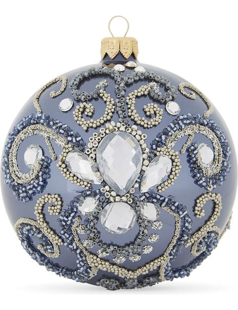 Bead embellished bauble, Selfridges