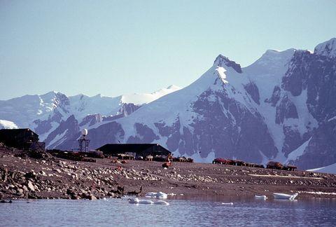 british antarctic survey base of rothera