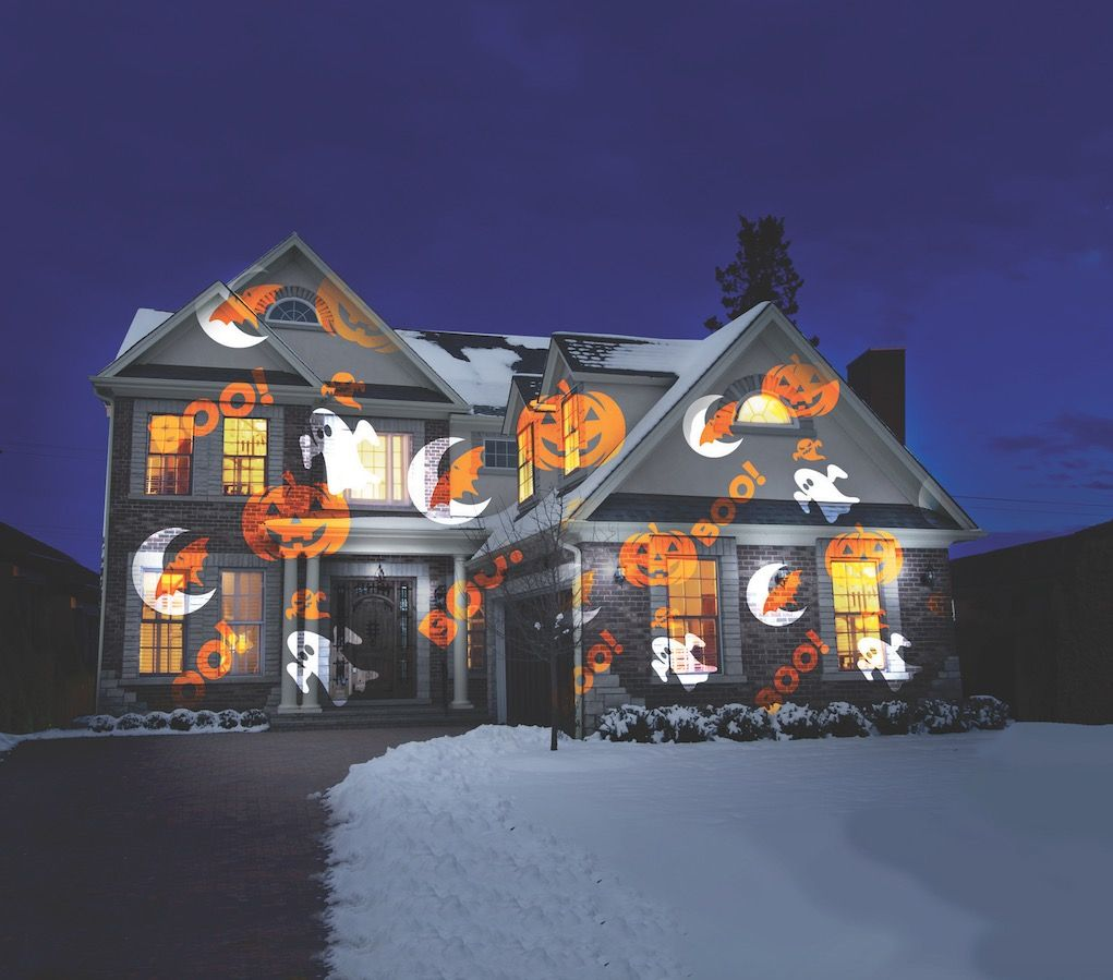 The easiest way to illuminate the exterior of your home this Halloween
