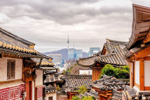 "<p>Seoul, South Korea's capital, boasts stunning architecture, top museums and most recently, a high-line park with cafes, bars and libraries along a disused elevated highway.</p><p><strong data-redactor-tag=""strong"" data-verified=""redactor"">MORE:&nbsp;</strong><span><strong data-redactor-tag=""strong"" data-verified=""redactor""><a href=""http://www.housebeautiful.co.uk/lifestyle/a2027/millennial-pink-world-travel-destinations/"" target=""_blank"" data-tracking-id=""recirc-text-link"">7 beautiful millennial pink destinations from around the world</a></strong></span></p>"