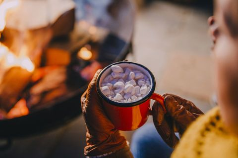 Keeping Warm with Hot Chocolate