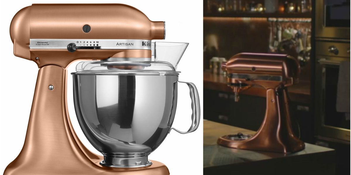 Where To Buy Nigella Lawson S Copper Kitchenaid Stand