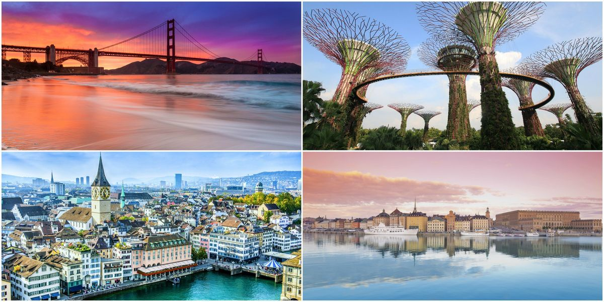 The 10 most welcoming cities in the world have been revealed