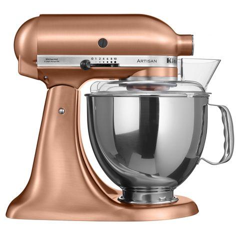 Where To Buy Nigella Lawson's Copper KitchenAid Stand Mixer ... on copper keurig, copper disney, copper canisters at walmart, copper flatware,