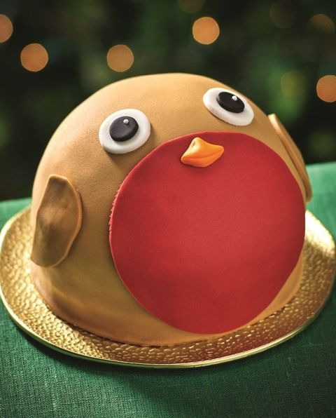 Morrisons Robby the Robin Cake