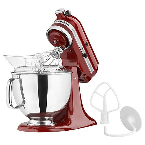 KitchenAid 150 Artisan 4.8L Stand Mixer, Red