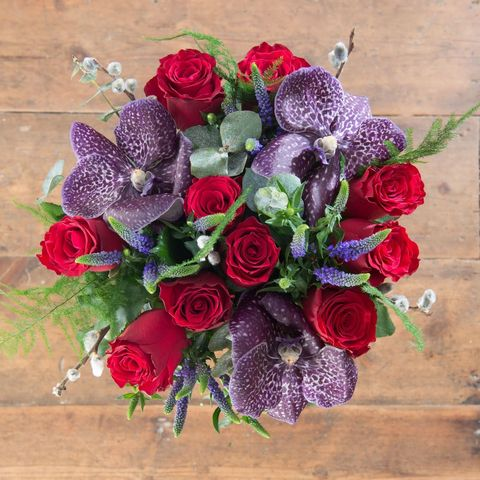 House Beautiful Christmas bouquet: Festive Treasures, from £36, House Beautiful at Flowers Direct/Interflora