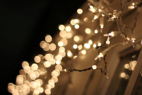 The dos and donts of using outdoor christmas lights outside close up of illuminated string lights during christmas at night aloadofball Gallery