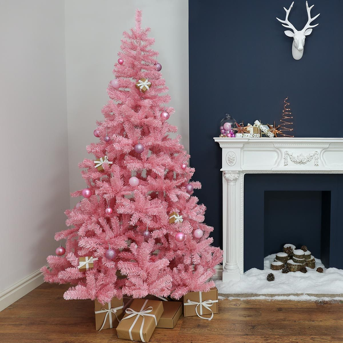 All You Want For Christmas Is Bright Pink Trees