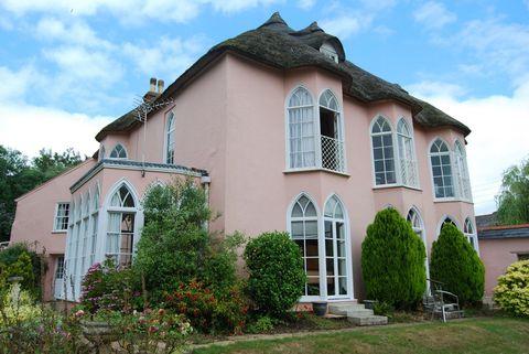 Brookdale - Devon - pink cottage - outside - force and sons