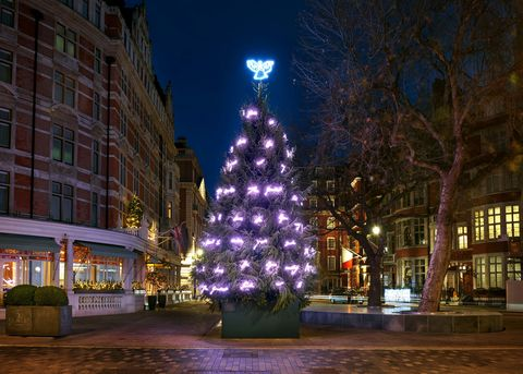 Tracey Emin - Christmas tree - The Connaught Hotel - 2017