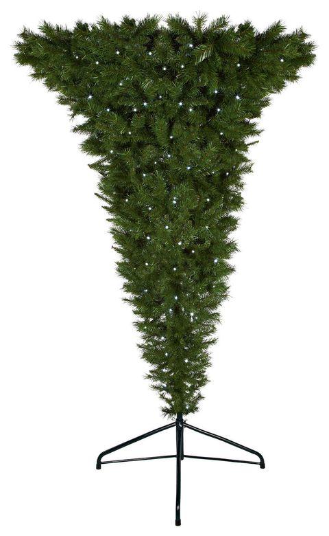 Upside Down Christmas Tree Ceiling.The Upside Down Christmas Tree Is The Most Cutting Edge