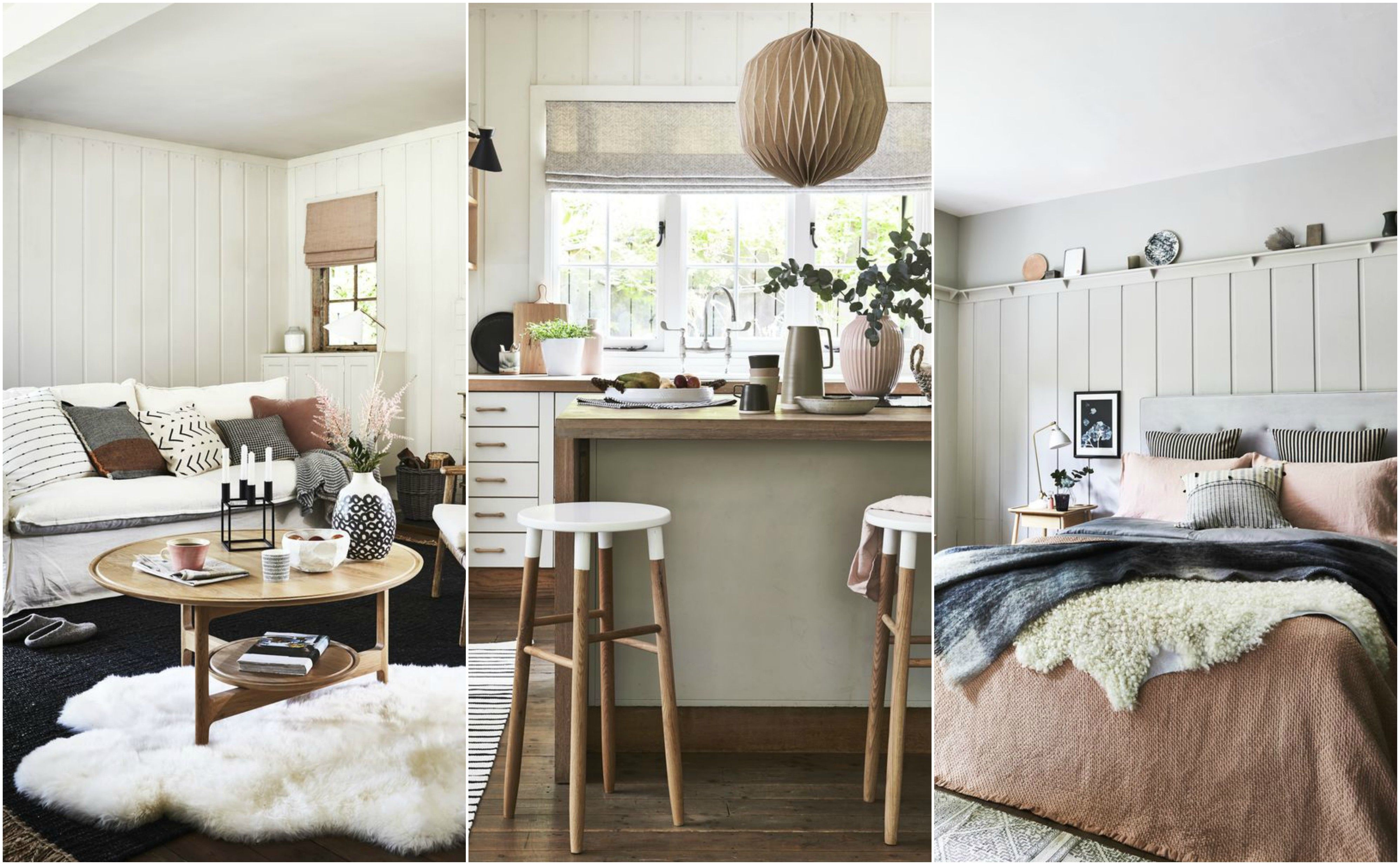 7 neutral decorating ideas with a hint of pink for every room of your home