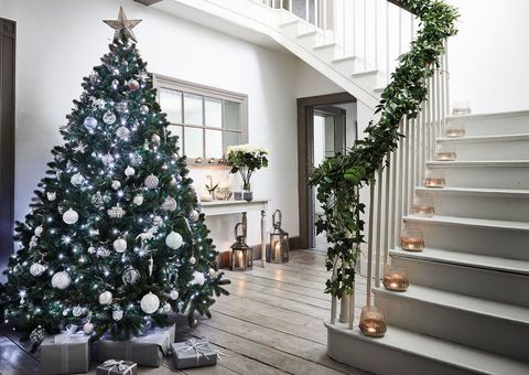 christmas waves a magic wand over this world and behold - Christmas Hallway Decorating Ideas