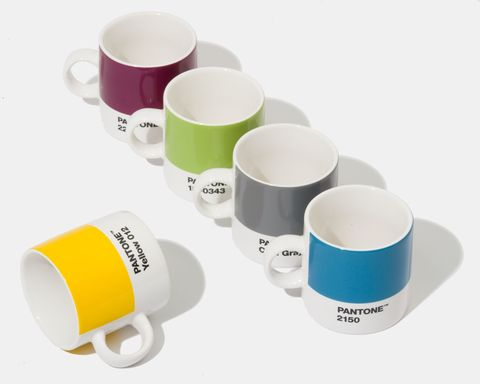 Pantone Living Collection by Room Copenhagen - Pantone Expresso Cups