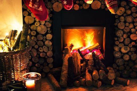 Countryside -fireplace