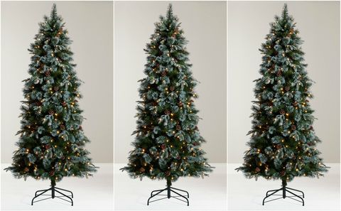 john lewis pre lit foxtail pine christmas tree 65ft - Pre Decorated Christmas Trees For Sale
