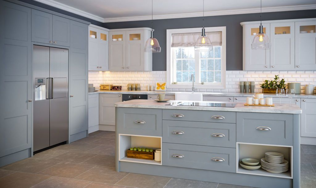 The Aldridge Shaker Style Kitchen Cabinet Doors
