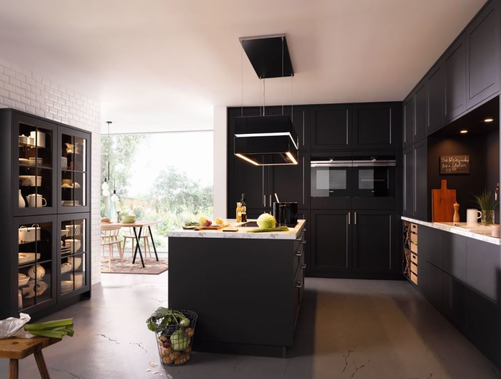 Schüller Kitchen   Black Units