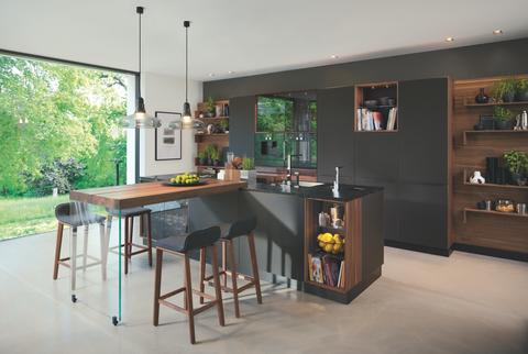 kitchen new design. Wharfside New Black Line Kitchen 10 best kitchen trends of 2017  Modern design ideas