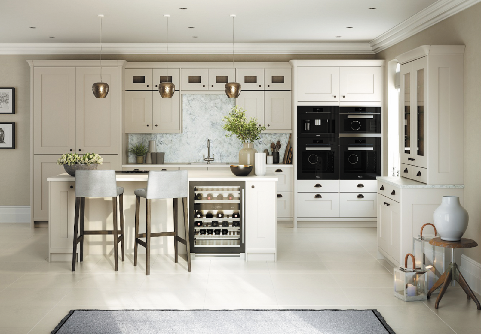 Wonderful Henley Kitchen Furniture By Daval