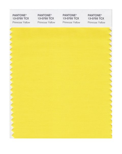 Pantone Fashion Colour Report - Spring 2017 - Primose Yellow