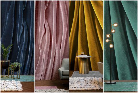 Velvet effect wallpaper from Murals Wallpaper