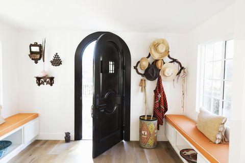 Open door - hallway