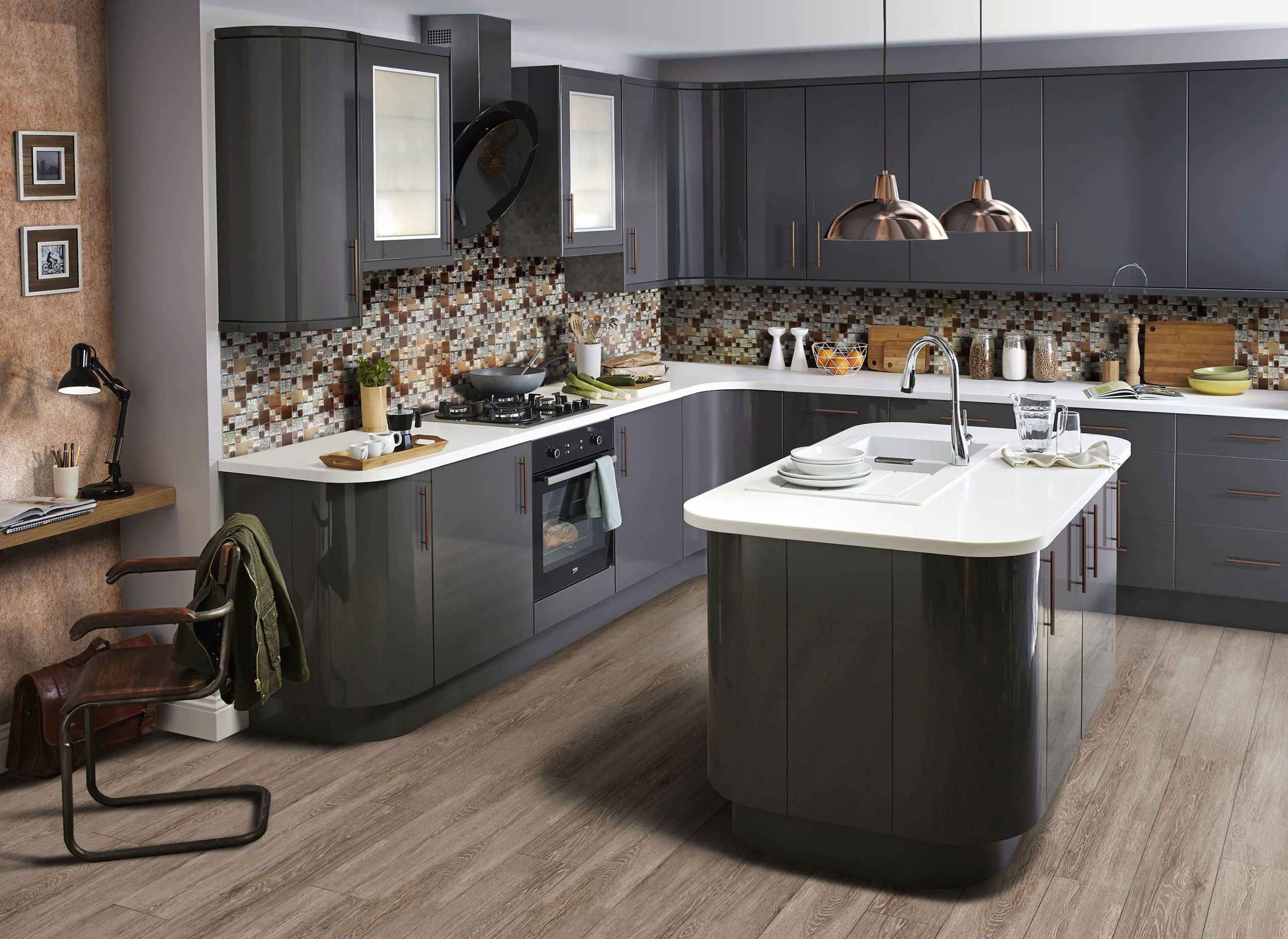 A New Kitchen Trends Report From Bu0026Q, In Partnership With Pinterest    Metallic Touches/