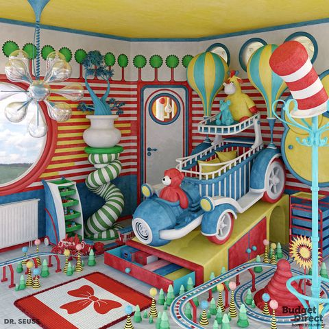 6 Nursery Rooms Inspired By Books From Famous Children S