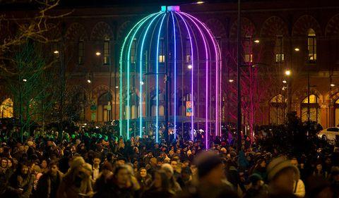 Lumiere London The Uk S Largest Light