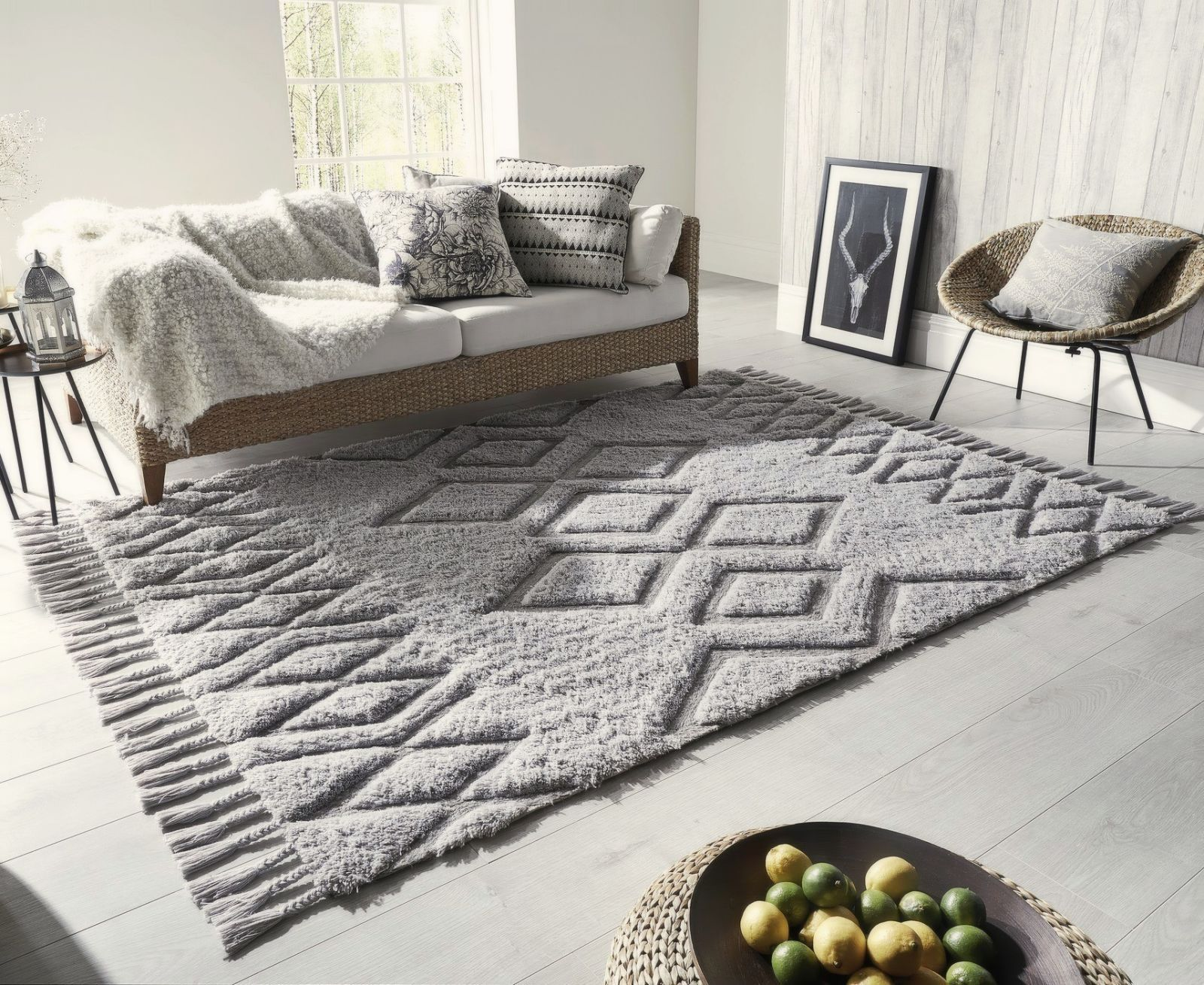 Superbe Grey Rugs
