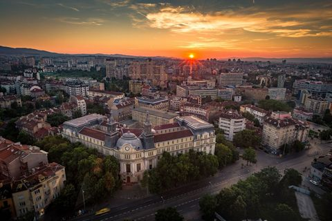 <p>Bulgaria's capital costs just £87.49 for one person to stay, eat, drink and have fun each day, making it an ideal city break. It's also the fourth cheapest European destination, according to the research.</p>