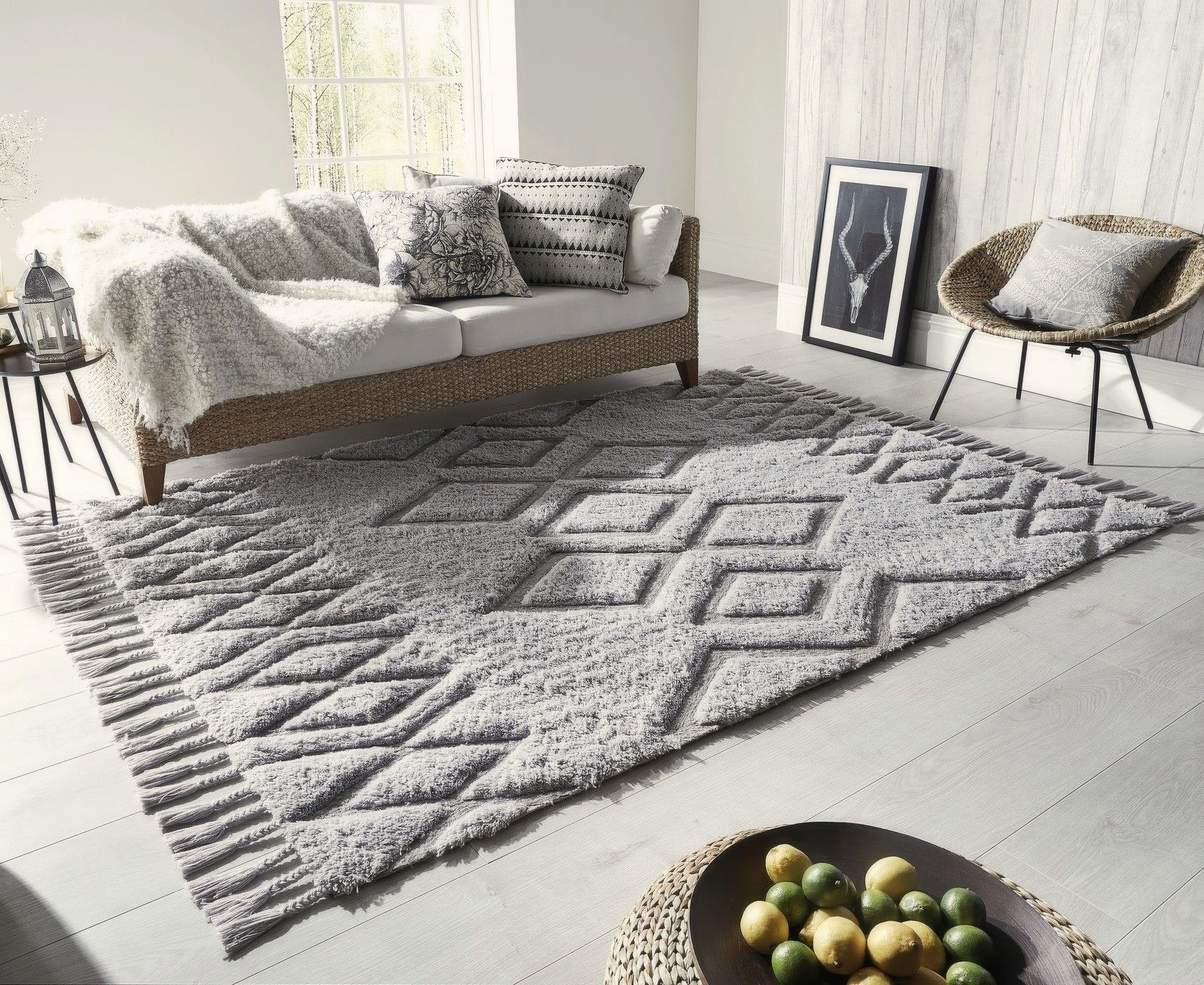 10 of the Best Grey Rugs - Large Rugs For Living Room, Bedroom and ...
